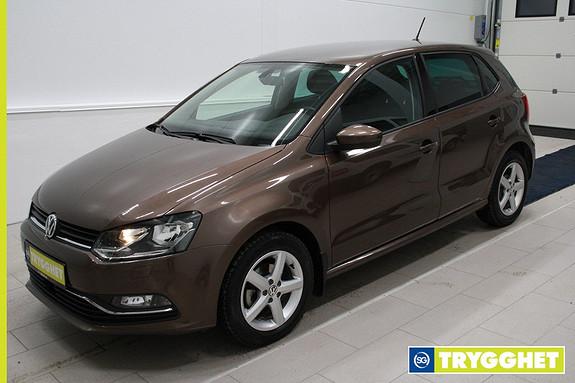 Volkswagen Polo 1,0 75hk Comfortline ,Klima,cruise,DAB+,tlf,parksensorer,kamera,mørke ruter,