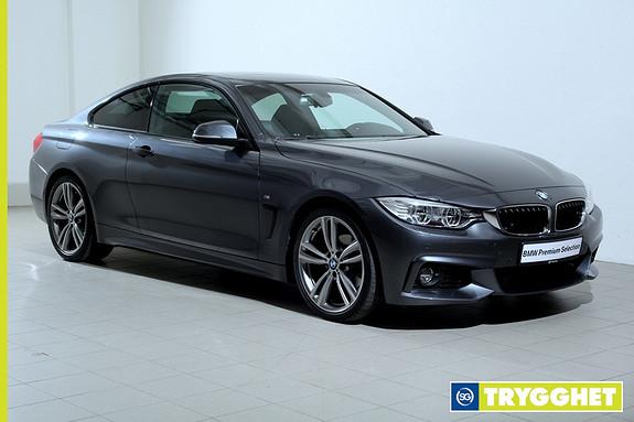 BMW 4-serie 420d (184hk) Coupé aut M.sport-Ad.LED-Navi-DAB-HiFi-soltak-oppv.ratt-Blåtann-Norsk