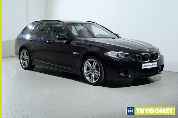 BMW 5-serie 530d xDrive Touring Automat -Mpakke-Navi-HeadUp-DrivingAssistant-Krok-HiFi++