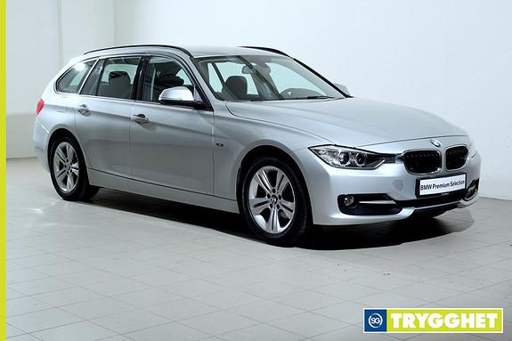 BMW 3-serie 316i Touring aut -SportLine-DAB+-Hengerfeste-Bluetooth-Norsk++