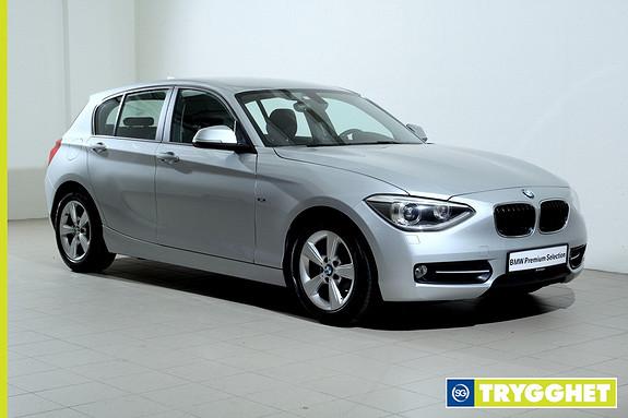 BMW 1-serie 116d EfficientDynamics -SportLine-Sportsseter-Bluetooth-DAB+-Norsk++
