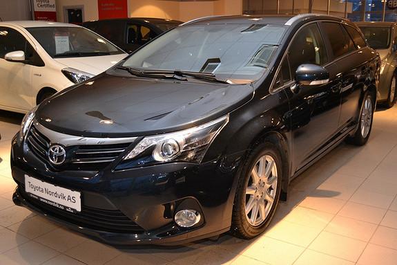 Toyota Avensis 2,2 D-CAT 150hk Adv. InBusiness 2.0 aut. Skinn/Alcantara. Motorvarmer. Navi. Ryggekamera.  2013, 26502 km, kr 299000,-