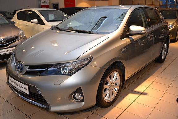 Toyota Auris 1,8 Hybrid E-CVT Active Go navi Ryggekamera. Navi. Hengerfeste  2013, 36293 km, kr 229000,-