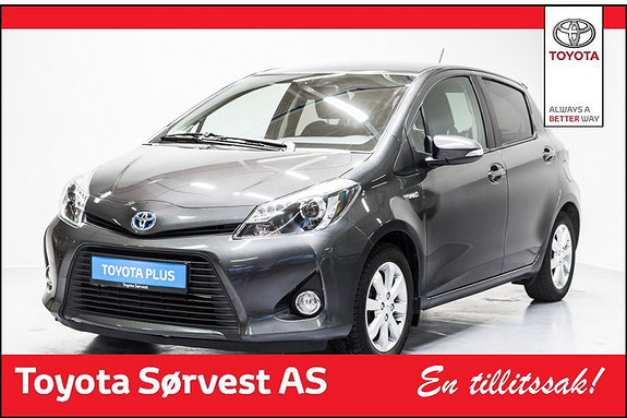 Toyota Yaris 1,5 Hybrid Style  2013, 43520 km, kr 179000,-