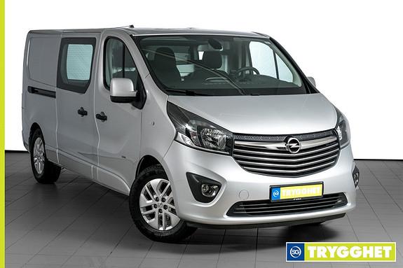Opel Vivaro 1,6 BiTurbo 120hk Mester Premium L2H1 2X SKYVEDØR-TOPPHENGSLET LUKE-HENGERFESTE ++