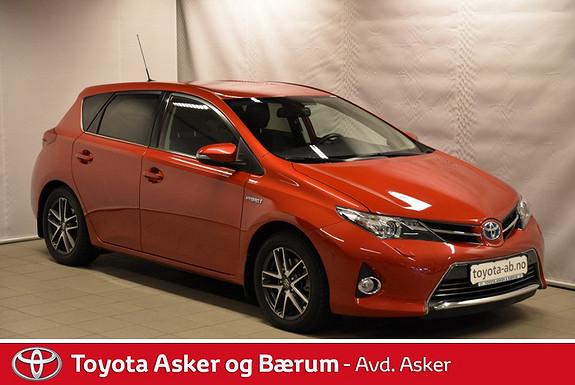 Toyota Auris 1,8 Hybrid E-CVT Executive RENTEKAMPANJE 2,95%  2013, 32100 km, kr 235000,-