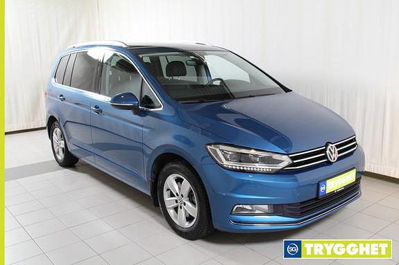 Volkswagen Touran 1,4 150 TSI Highline DSG 7 seter! Park.varmer,oppvarmet ratt,Dab+,navi