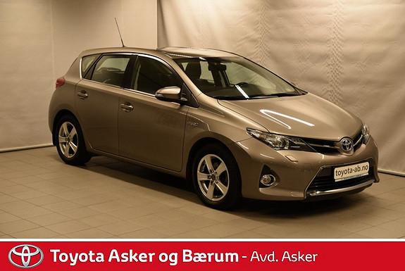 Toyota Auris 1,8 Hybrid E-CVT Active Go navi RENTEKAMPANJE 2,95%  2013, 38900 km, kr 211000,-