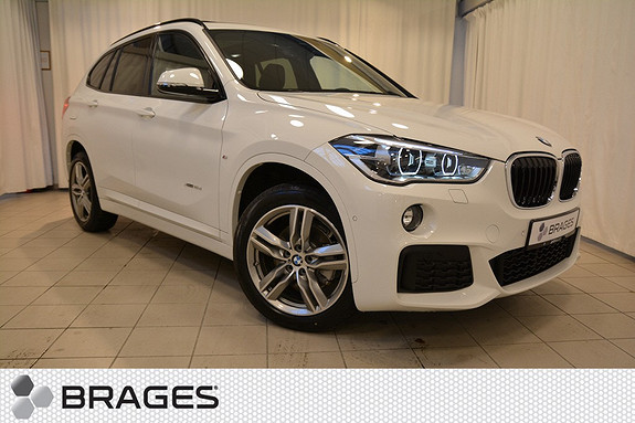 BMW X1 xDrive18d 150hk aut, NORSK MPAKKE NAVI HEAD-UP PANO KROK ADAPTIV CRUISE ++  2017, 1650 km, kr 569000,-