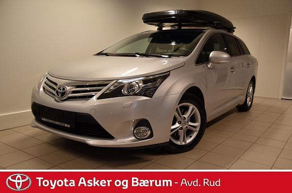 Toyota Avensis 1,8 147hk Advance Multidrive S  2013, 31000 km, kr 269000,-