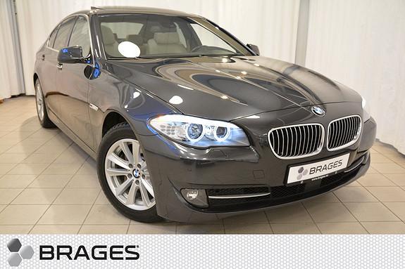 BMW 5-serie 525d Automat 1-Eier, Skinn, Glasstakluke, Krok, NaviProff, Aktiv Cruise, Ryggekam++  2011, 72400 km, kr 379000,-