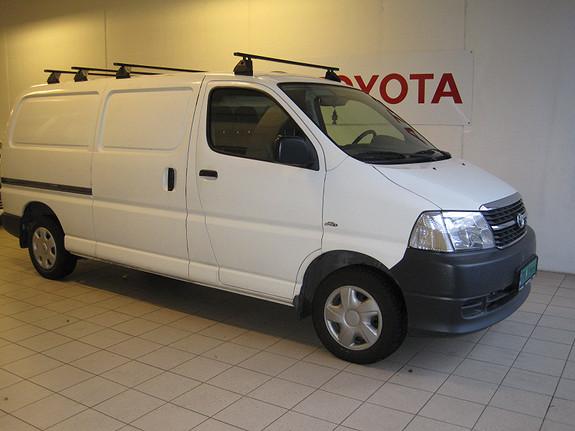 Toyota HiAce 2,5 D-4D 2WD Lang  2009, 113154 km, kr 99000,-