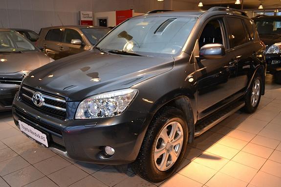 Toyota RAV4 2,2 D-4D 136hk DPF Cross Sport LAV.KM. Hengerfeste  2007, 104586 km, kr 179000,-