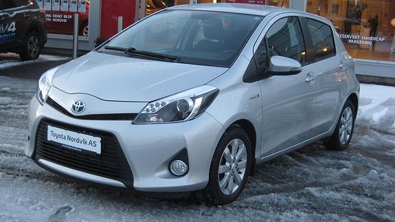 Toyota Yaris 1,5 Hybrid Active  2013, 20485 km, kr 169000,-