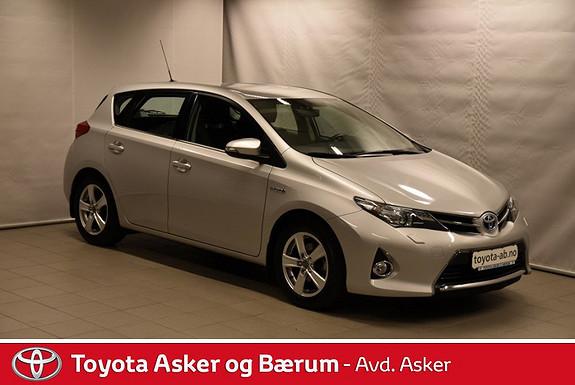 Toyota Auris 1,8 Hybrid E-CVT Active Go navi RENTEKAMPANJE 2,95%  2013, 9400 km, kr 239000,-