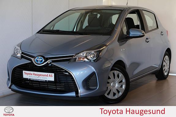 Toyota Yaris 1,5 Hybrid Active e-CVT Navigasjon, ryggekamera, Bluetooth, DAB+, tectylert  2015, 16621 km, kr 195000,-