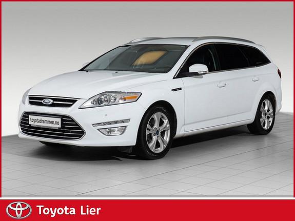 Ford Mondeo 2,0 TDCi 163hk Premium Aut. koplett service , Premium toppmodell mye utstyr  2014, 187000 km, kr 199000,-
