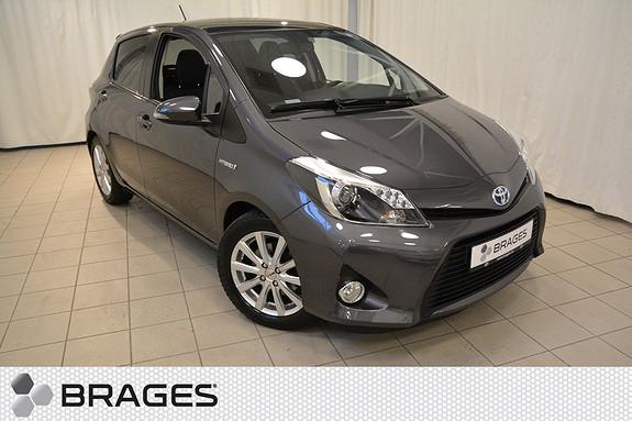 Toyota Yaris 1,5 Hybrid Style 1-Eier, Pano, Navi, Delskinn, Cruise, Auto-klima, Keyless+++  2013, 40500 km, kr 179000,-