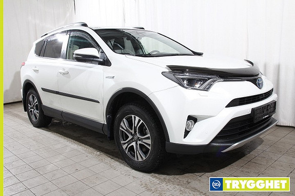 Toyota RAV4 Hybrid AWD Executive Ryggekamera Frontkamera Skinn Hengerfeste Adaptiv Cruise