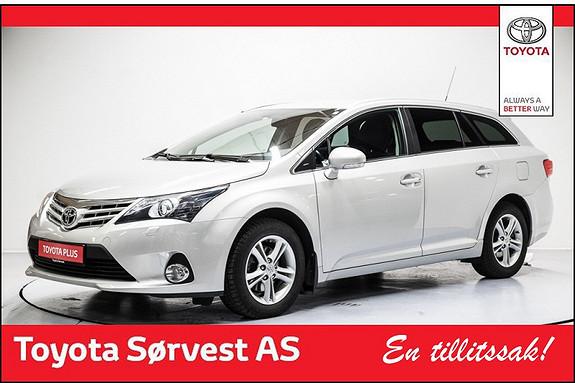 Toyota Avensis 1,8 147hk Advance Multidrive S Flott Avensis, 1 eier  2014, 37780 km, kr 279000,-