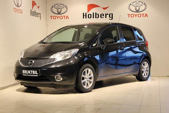 Nissan Note 1,2 80hk Acenta Navi, 360 Monitor, Filskift, Blindsone, Cruise ++  2014, 28327 km, kr 149000,-