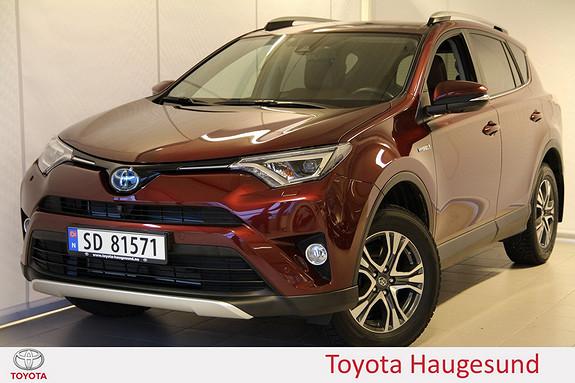Toyota RAV4 Hybrid 4WD Executive Skinn, 360 kamera, DAB+, Navi, Bluetooth - norsksolgt - Tectyl  2016, 7169 km, kr 469000,-
