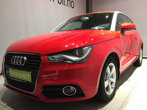 Audi A1 1,6 TDI 105 Hk Ambition Bi-xenon, Clima, Ryggesensor, Regnsensor, Multiratt, **LAV KM**