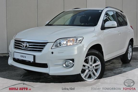 Toyota RAV4 2,2 D-4D Vanguard Executive Tectyl -H.feste -Defapakke -2,95% rente -1 år garanti  2011, 82500 km, kr 269900,-