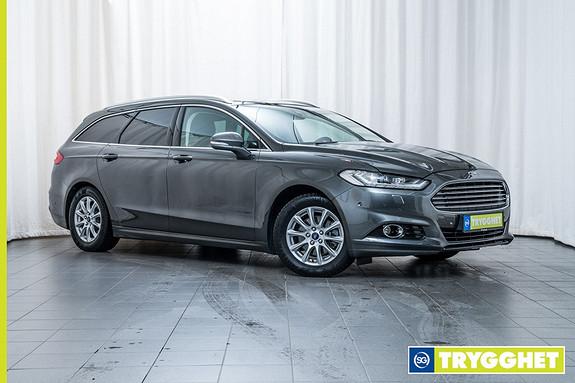 Ford Mondeo 1,6 TDCi 115hk Titanium NY! Fjernstyrt dieselvarmer, Navi, DAB, El hengerfeste ++++