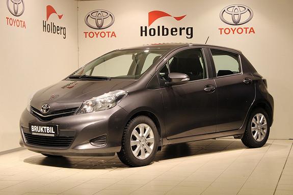 Toyota Yaris 1,33 Active Navi, Ryggekamera, Bluetooth, Multiratt ++  2014, 31095 km, kr 169000,-
