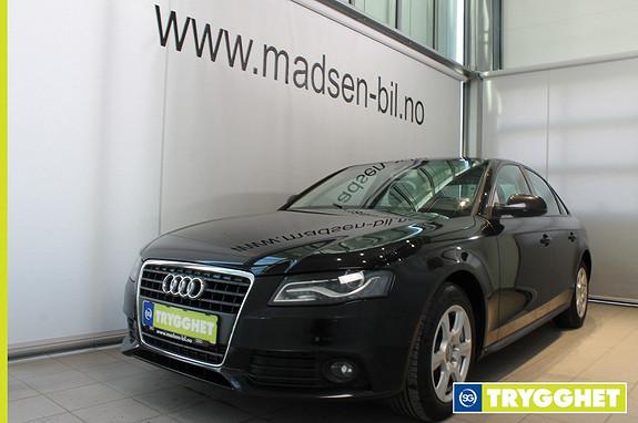 Audi A4 2,0 TDI 143 hk multitronic Cruisekontroll, Multitronic, Navigasjon, Ryggesensorer