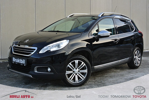 Peugeot 2008 Allure 1,6 e-HDi 115hk DAB+ - Panoramatak - Navigasjon - Skinnseter - Garanti 2019  2014, 57281 km, kr 199900,-