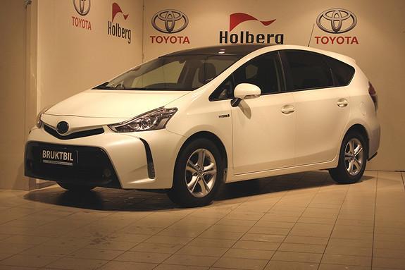 Toyota Prius+ Seven 1,8 VVT-i Hybrid Executive Panorama, Adapt Cruise, Navi, Bi-LED, TLF ++  2015, 24500 km, kr 339000,-