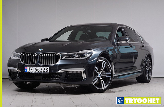 BMW 7-serie 730d xDrive 211hk Norsksolgt, M-Sport, Laserlys, Driving Assistant Plus, HeadUp +++