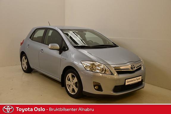 Toyota Auris 1,8 Executive Automat, Ryggekamera,  2011, 63753 km, kr 159900,-
