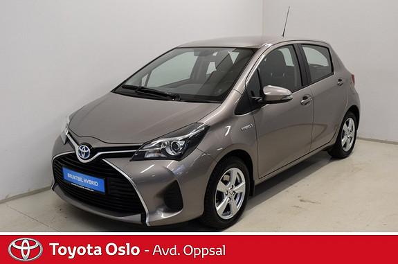 Toyota Yaris 1,5 Hybrid Active e-CVT , Navigasjon, Ryggekamera, DAB+,  2015, 52533 km, kr 179900,-
