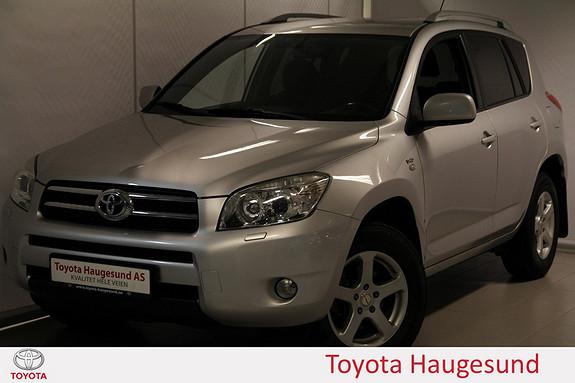 Toyota RAV4 2,2 D-4D 136hk DPF Cross Sport Navi, cruise, autoklima, Bluetooth, setevarme, m.m.  2007, 236042 km, kr 129000,-