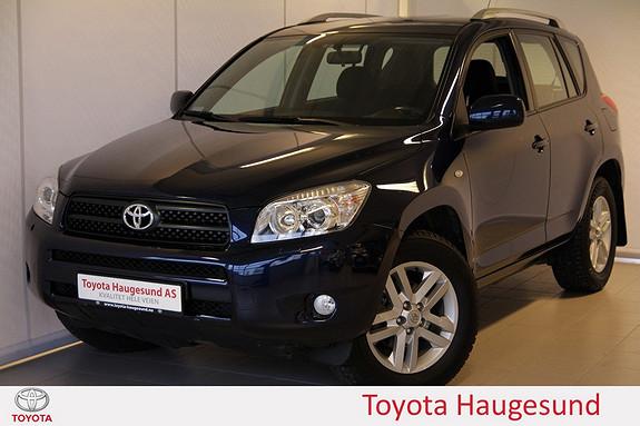 Toyota RAV4 2,0 VVT-i aut. Autoklima, cruise, MF-ratt, tectylert - FIN KM!  2006, 83945 km, kr 169000,-