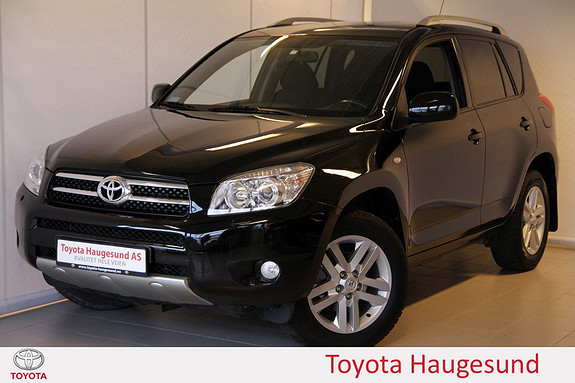 Toyota RAV4 2,0 VVT-i Cross Sport aut Navi, cruise, Bluetooth, autoklima, m.m.  2008, 99997 km, kr 219000,-