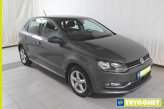 Volkswagen Polo 1,2 TSI 90hk Comfortline DSG (K) Dab+,bluetooth,ryggekamera,cruisecontroll