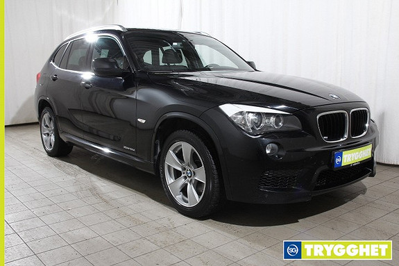 BMW X1 xDrive18d Automat Norsk-M.Sport-Skinn-Navi-R.kamera-Panoramatak-DAB-HiFi-Bluetooth-BiXen