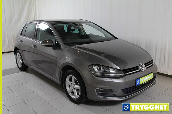 Volkswagen Golf 1,2 TSI 110hk Highline park.varmer m/fj,navi,bluetooth,dab+,adaptiv cruisecontr