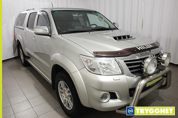 Toyota HiLux D-4D 171hk D-Cab Aut 4wd SR+