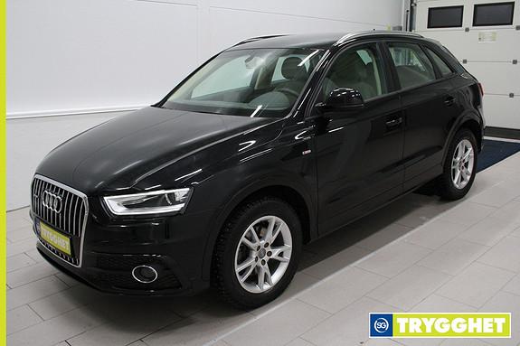 Audi Q3 2,0 TDI 140hk quattro S tronic ,Skinn,klima,cruise,DAB+,navi,tlf,parksensor bak,krok,
