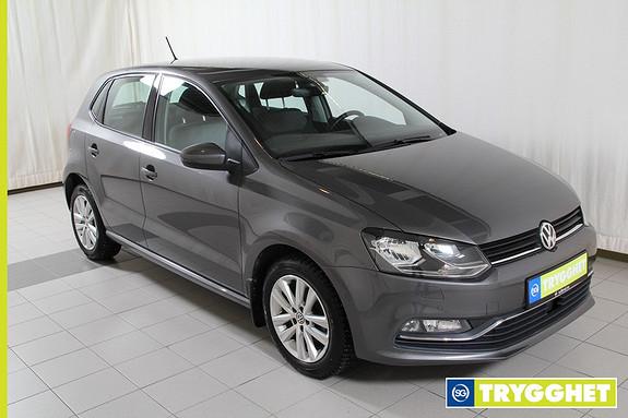 Volkswagen Polo 1,2 TSI 90hk Comfortline DSG (K) DAb+,cruise,ryggekamera,bluetooth,park.sensor