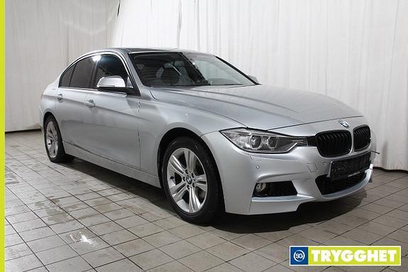 BMW 3-serie 320d Automat Norsk-Sportline-Skinn-DAB-Oppvarmbart ratt-Bluetooth-PDC-Pen!