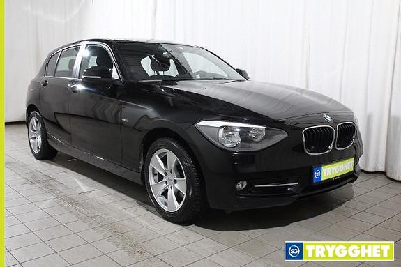 BMW 1-serie 114d 1 Eier, Norsk, Sportline, Parksensor, 2sone klima, Cruisecontroll, Blåtann,AUX