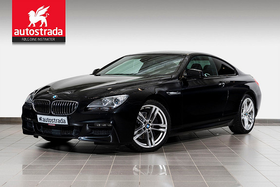 BMW 6-serie 640i 320hk Coupe M-Sport/ ACC/HUD/