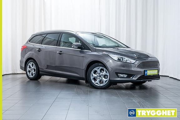 Ford Focus 1,5 TDCi 120hk Titanium X Ryggekamera! Navigasjon! Audiostreaming, DAB+, Keyless +++