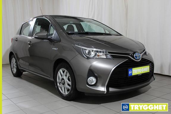 Toyota Yaris 1,5 Hybrid Active S e-CVT Navi,ryggekamera,dab +,
